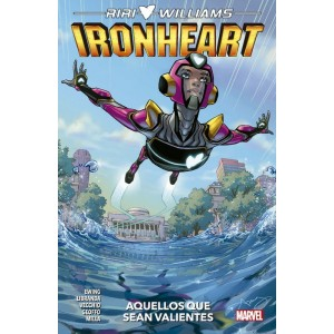 Riri Williams: Ironheart 1 Aquellos que sean valientes