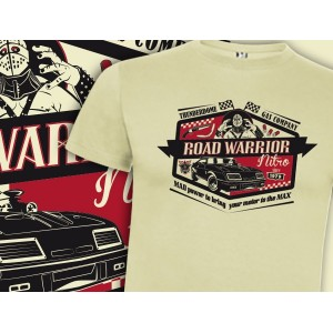 Camiseta mcfly: Road Warrior