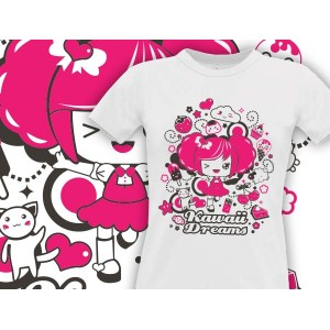 Camiseta Mcfly: Kawaii Dreams