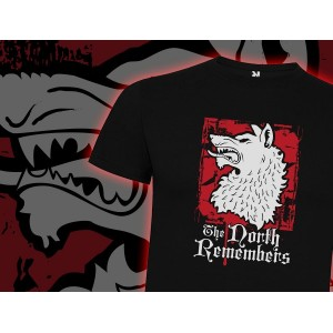 Camiseta Mcfly: North Remembers