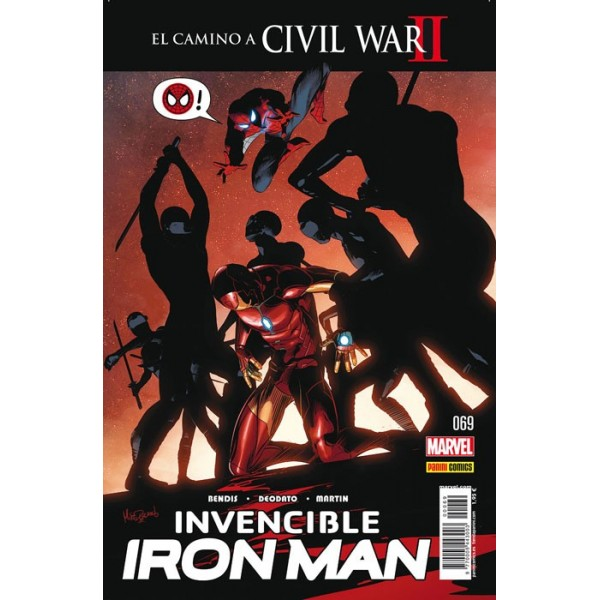 Invencible Iron Man 69. El camino a Civil War II