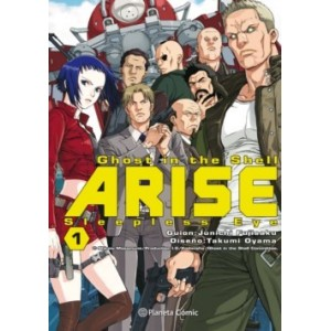 Ghost in the Shell - Arise nº 01 (de 7): Sleepless Eye